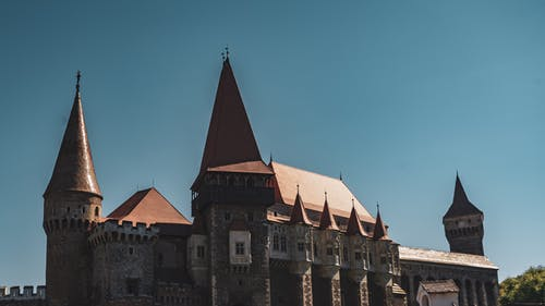 Corvins' Castle in Hunedoara, Romania