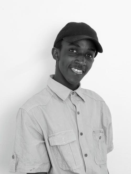 Free stock photo of boy smiling