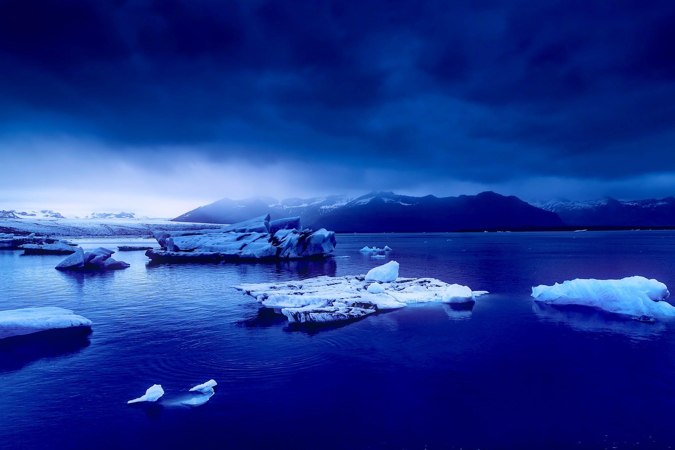 Free stock photo of cold, iceberg, iceland, snow