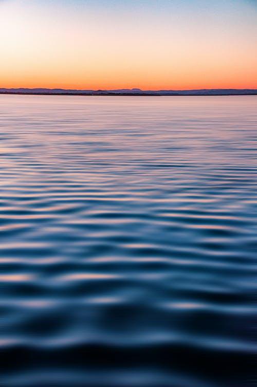 H2O, 冷靜, 地平線, 平靜 的 免费素材照片