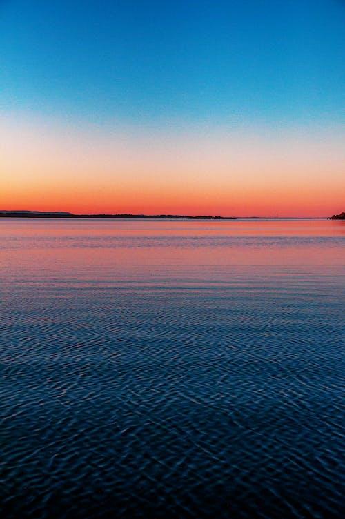 Foto d'estoc gratuïta de aigua, alba, callat, calma