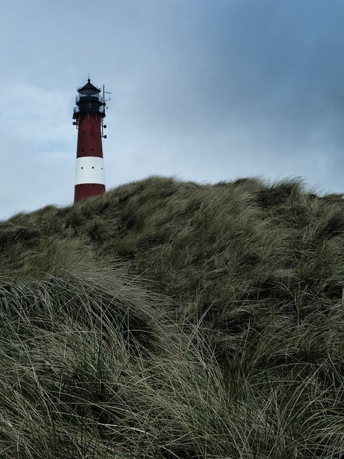 Low-Angle Photography of Lighthouse