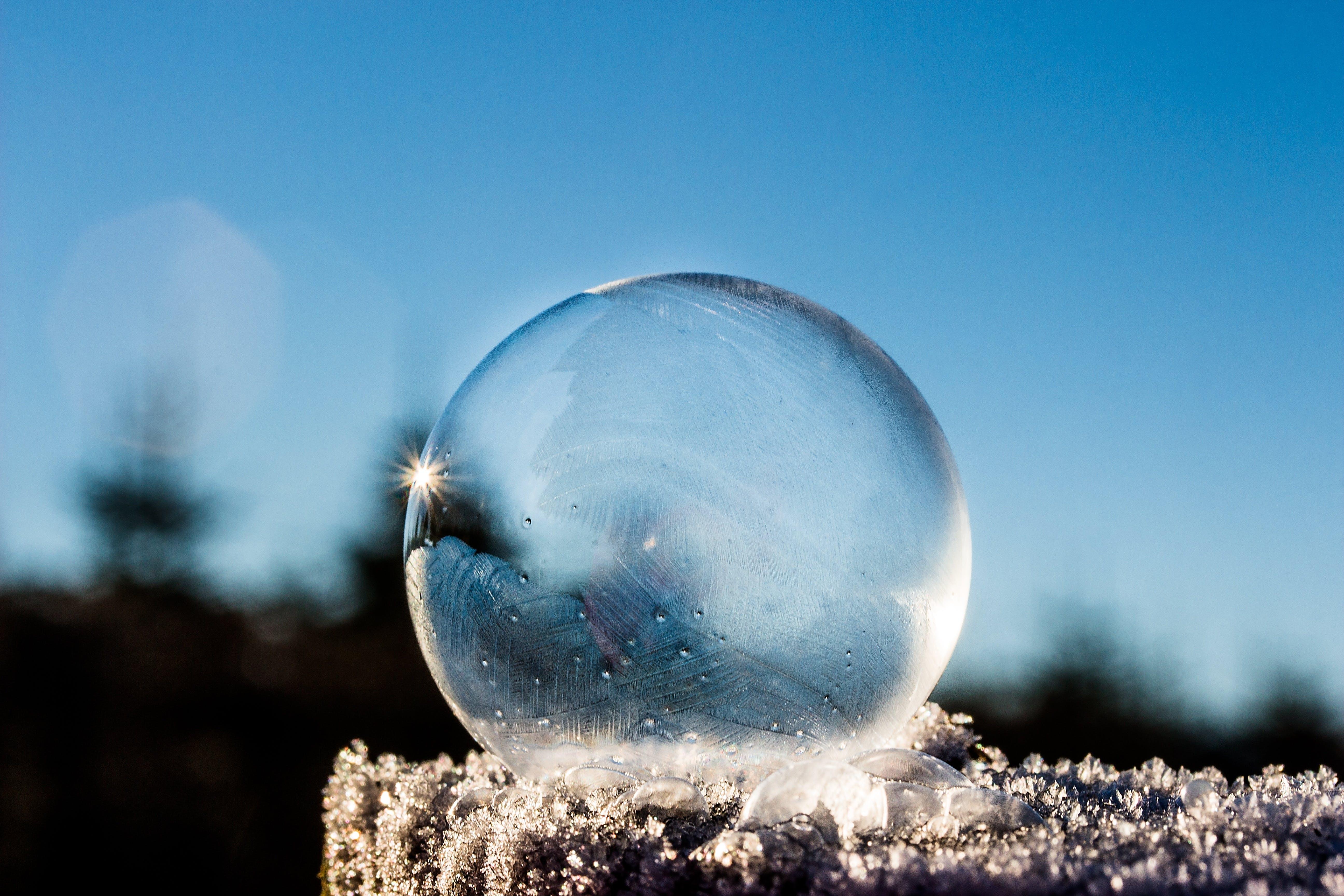 Closeup Water Droplets