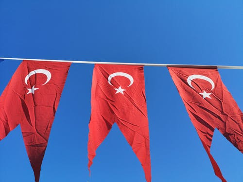 Photo of Turkish Flags