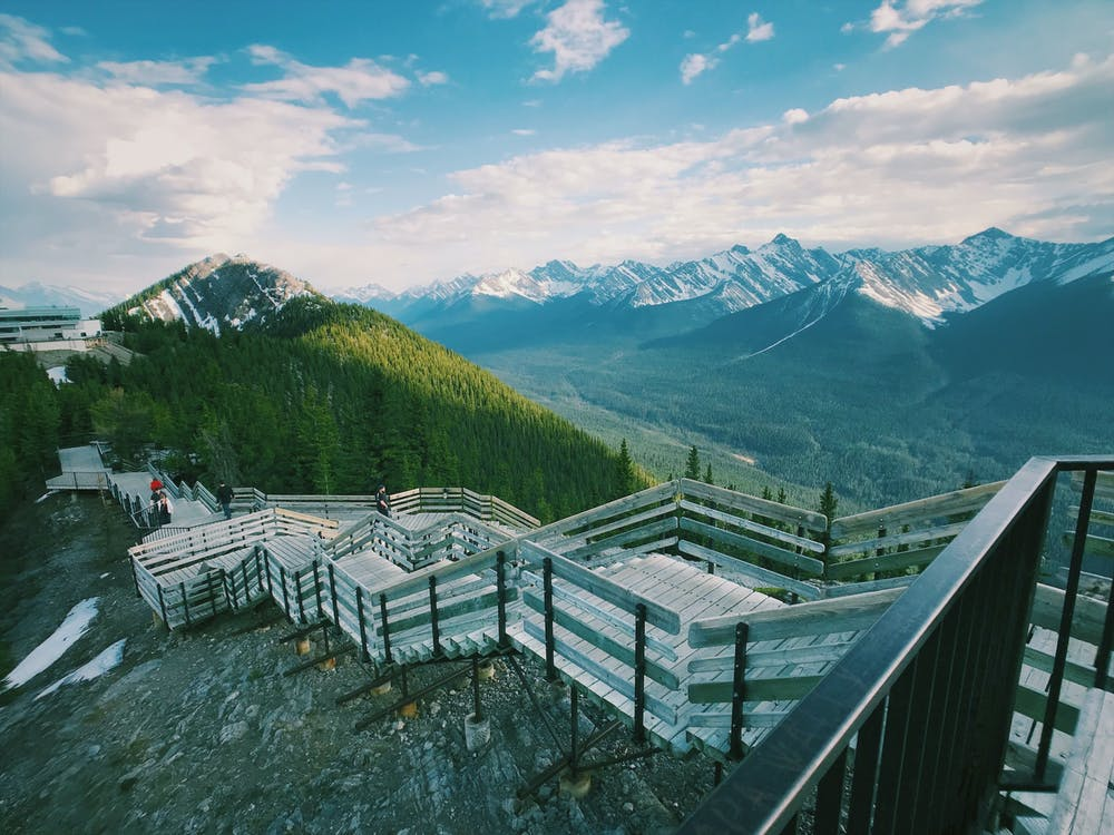 Scenic Photo of Banff National Park