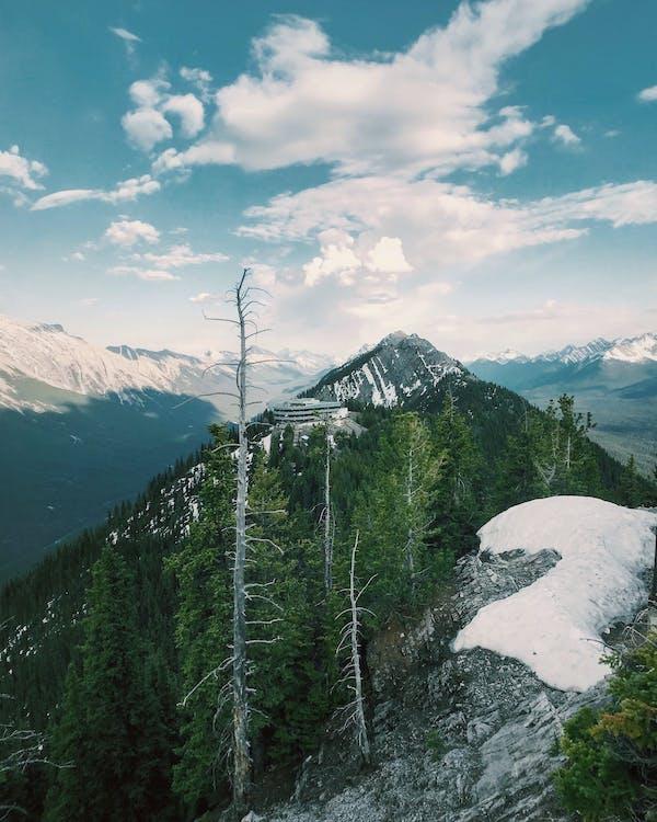 Alberta, banff, ég
