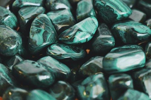 岩石, 弹球, 拋光, 綠色 的 免费素材照片