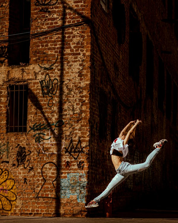arkkitehtuuri, asento, baletti