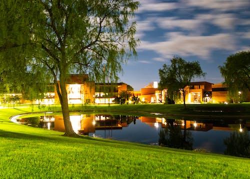 Photos gratuites de campus, contraste, léger, nuage