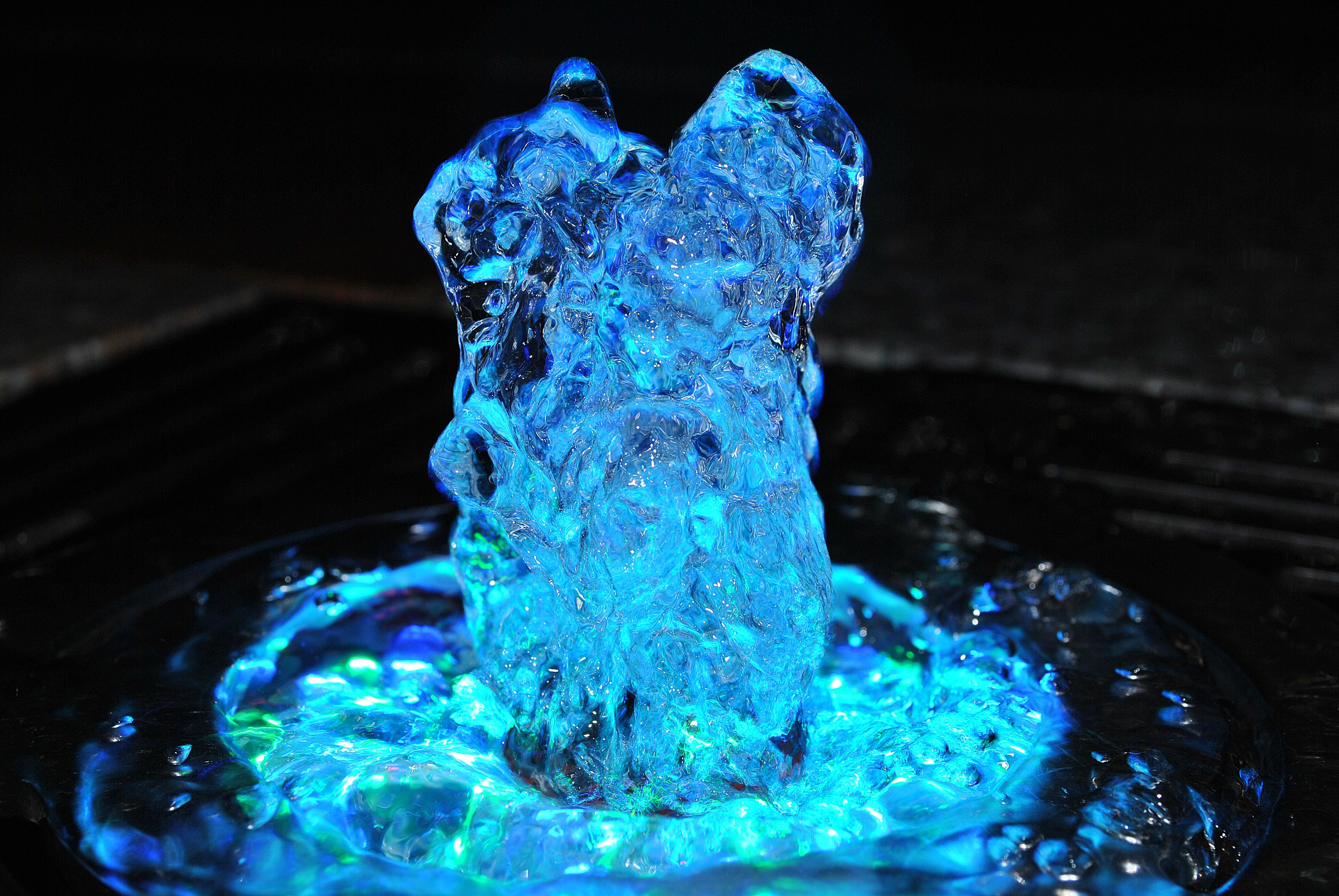 Time Lapse Photography of Water Fountain