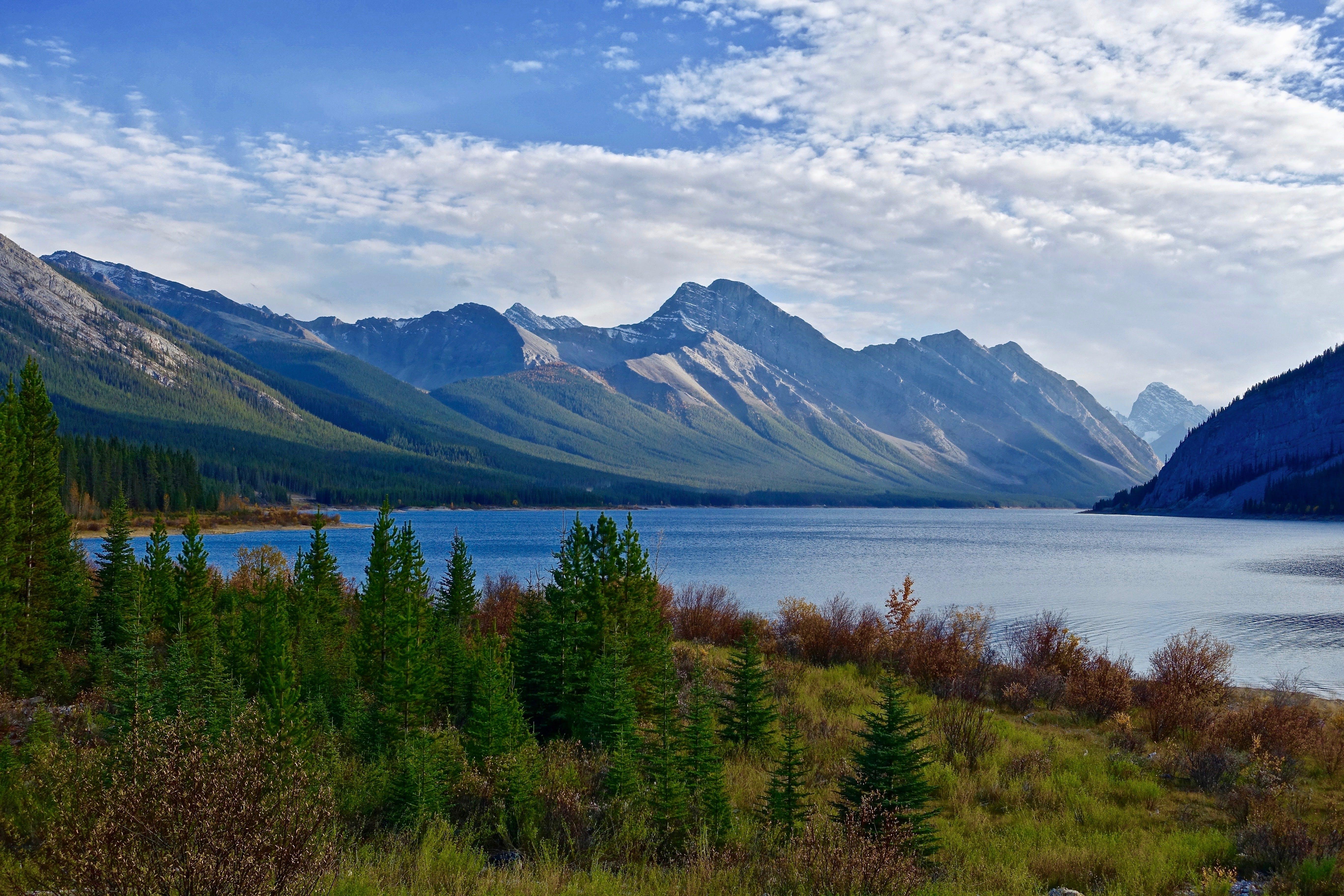 冷靜, 天性, 山, 景觀 的 免費圖庫相片