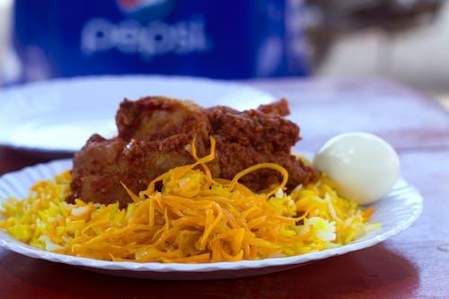 Fotobanka sbezplatnými fotkami na tému dresing na šalát, jedlo, kuracie vajcia, ryžová miska