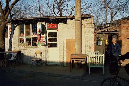Ảnh lưu trữ miễn phí về ánh sáng ban ngày, cái ghế, căn nhà, cửa hàng