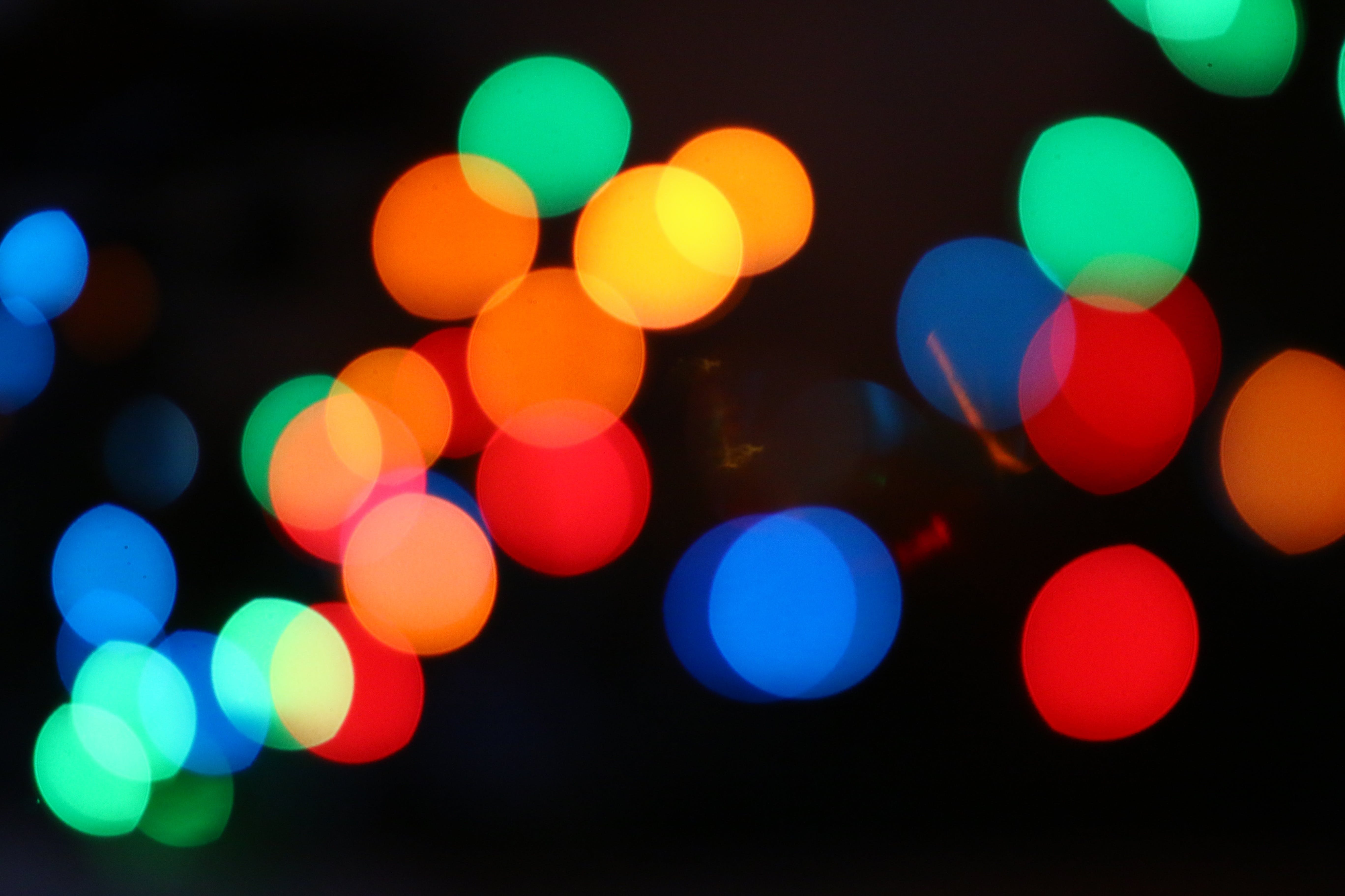 Free stock photo of lights, colorful, bokeh, blurred