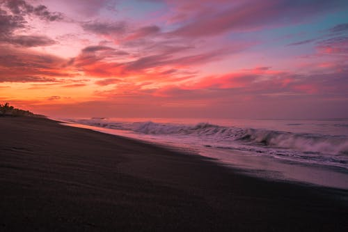 Free stock photo of beach, down, sand, sky