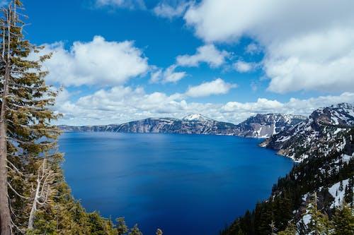 Gratis lagerfoto af bjerg, dagslys, forkølelse, fugleperspektiv