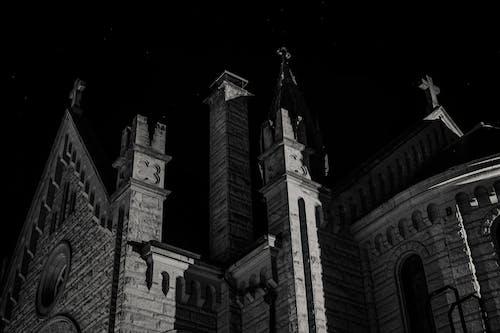 Бесплатное стоковое фото с архитектура, здание, здание церкви, кафедральный собор