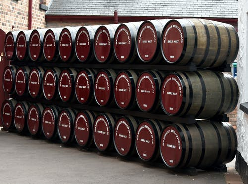 Free stock photo of alcohol, barrels, distillery, whiskey