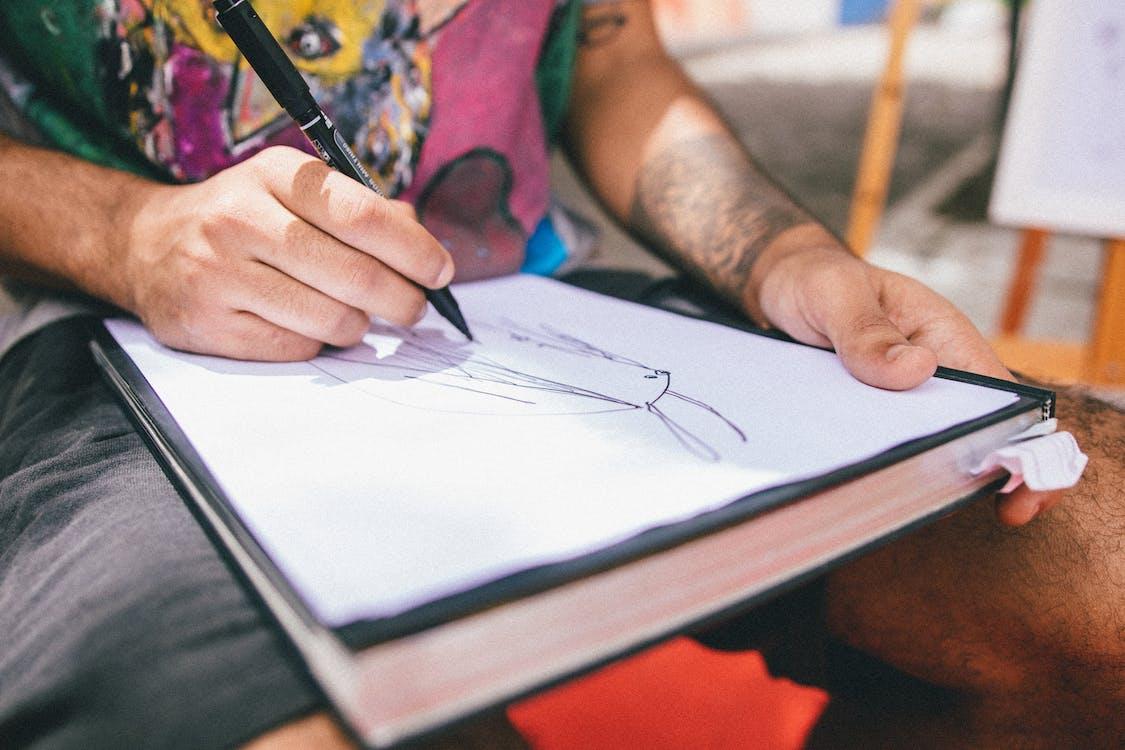 artsy, กระดาษ, การวาดภาพ