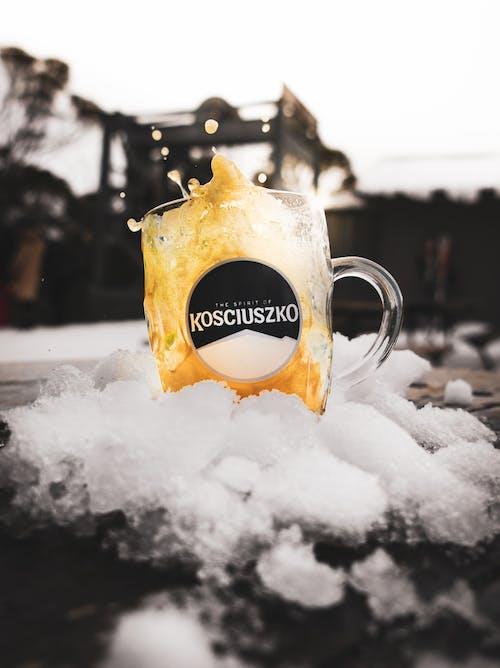 Fotos de stock gratuitas de cerveza, Fondo de pantalla 4k, vaso de cerveza