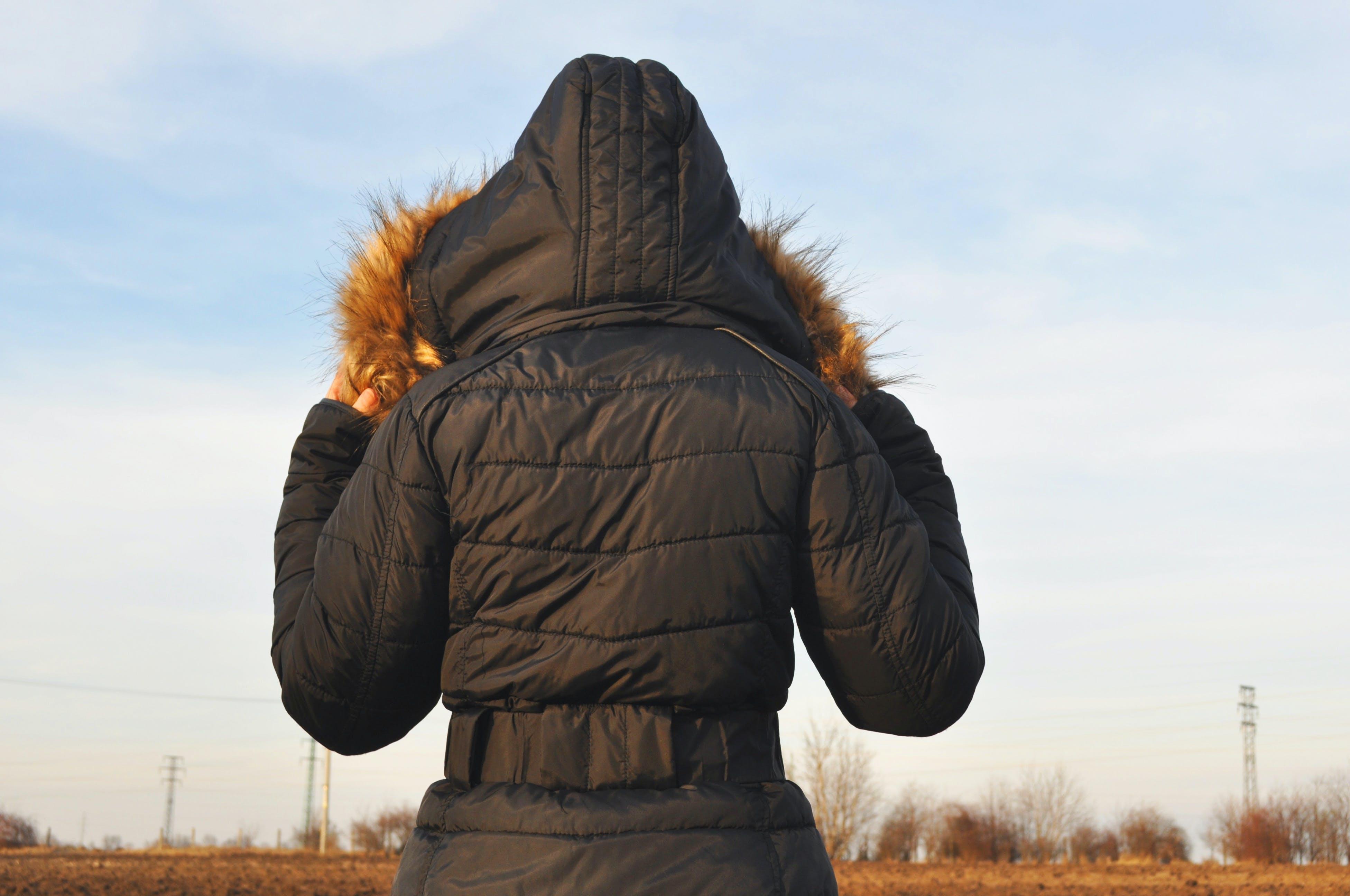 Immagine gratuita di behid, campo, cappotto, cieli blu