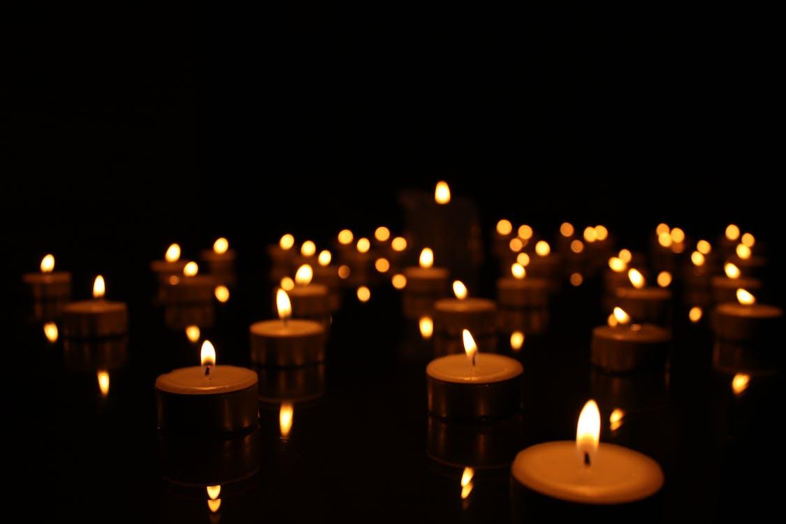 candle, candles, tea light