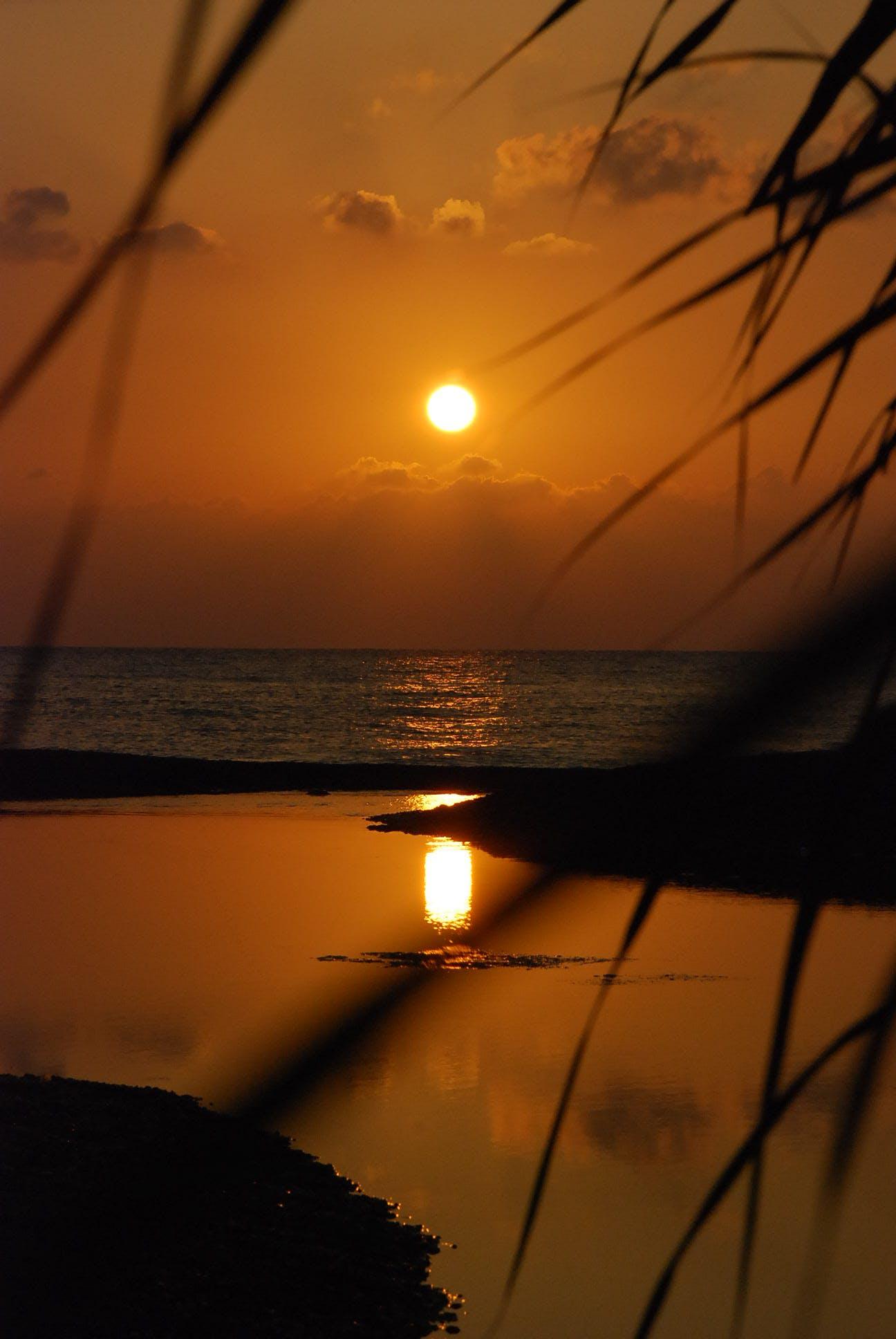 Free stock photo of beach, olympos, sea, sunset