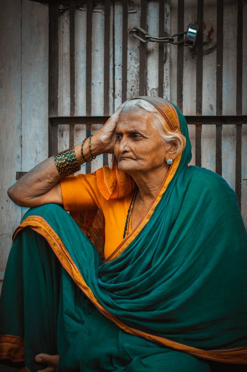 Free stock photo of Confused, indian tradition, indian woman, looking away
