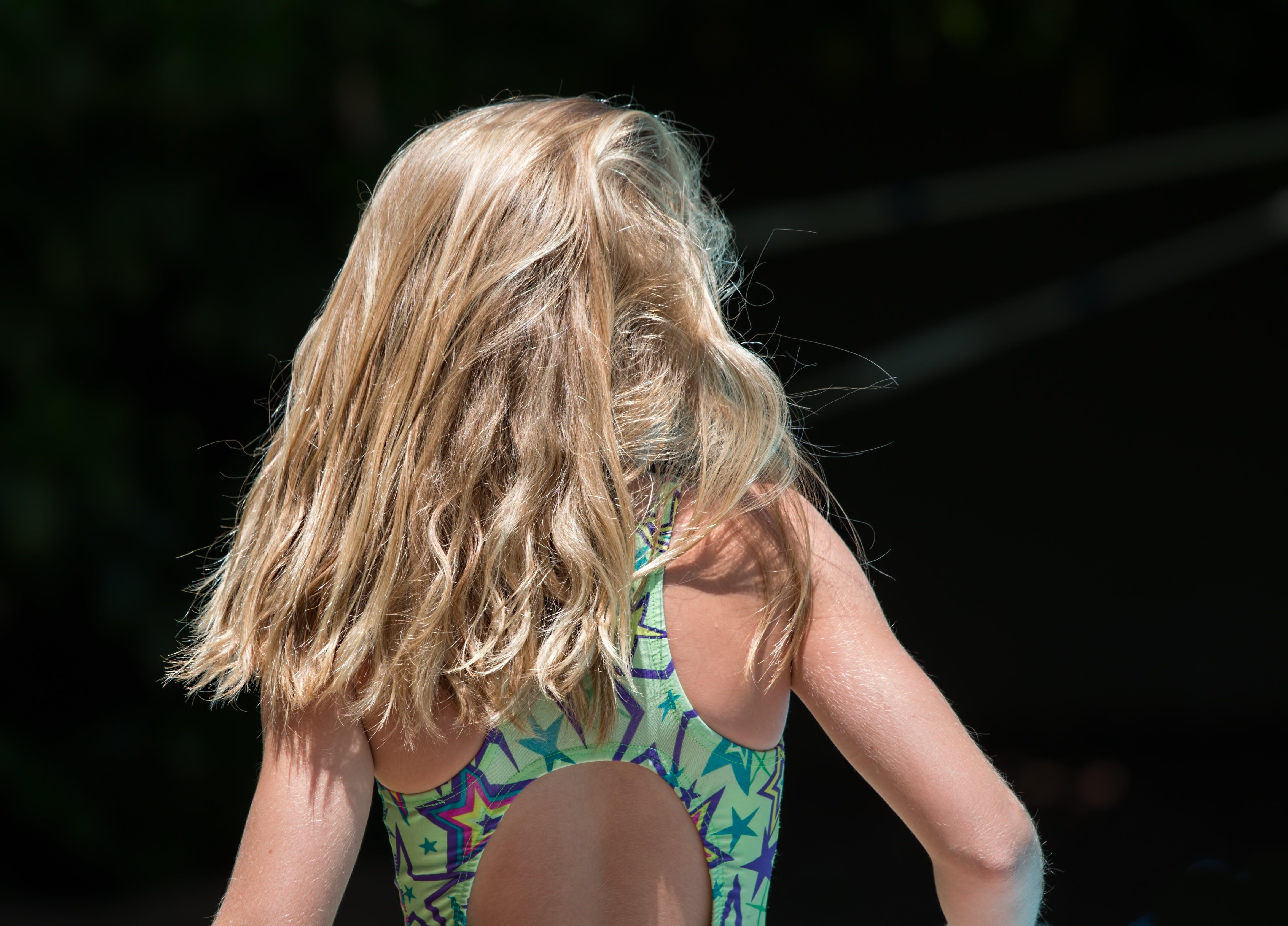 Kostenloses Stock Foto zu badeanzug, blond, blondes haar, ferien
