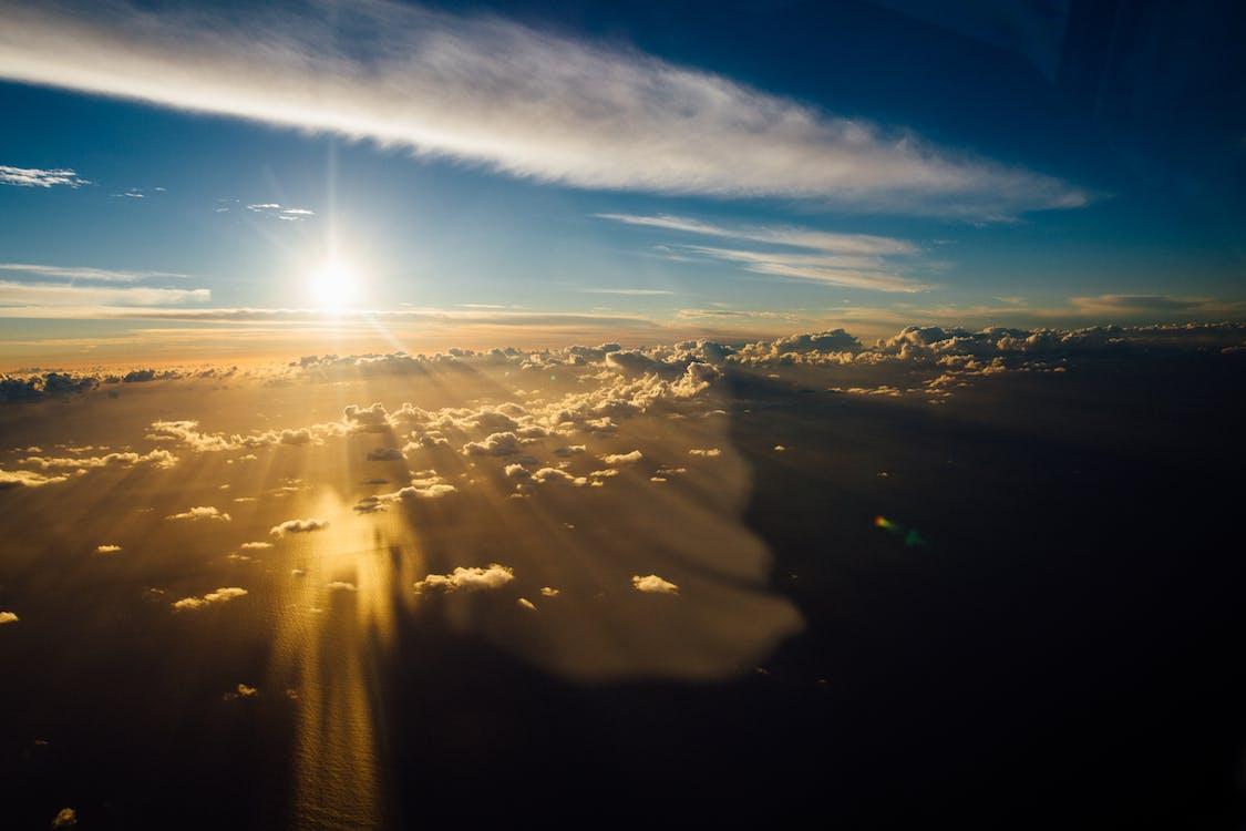 gylden time, himmel, himmelen
