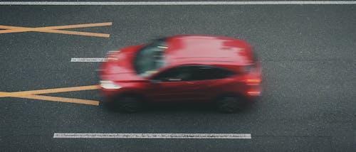 Photos gratuites de brouiller, flou de mouvement, rouge, route