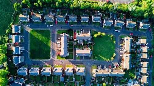 Бесплатное стоковое фото с архитектура, Аэрофотосъемка, вид сверху, дневной свет