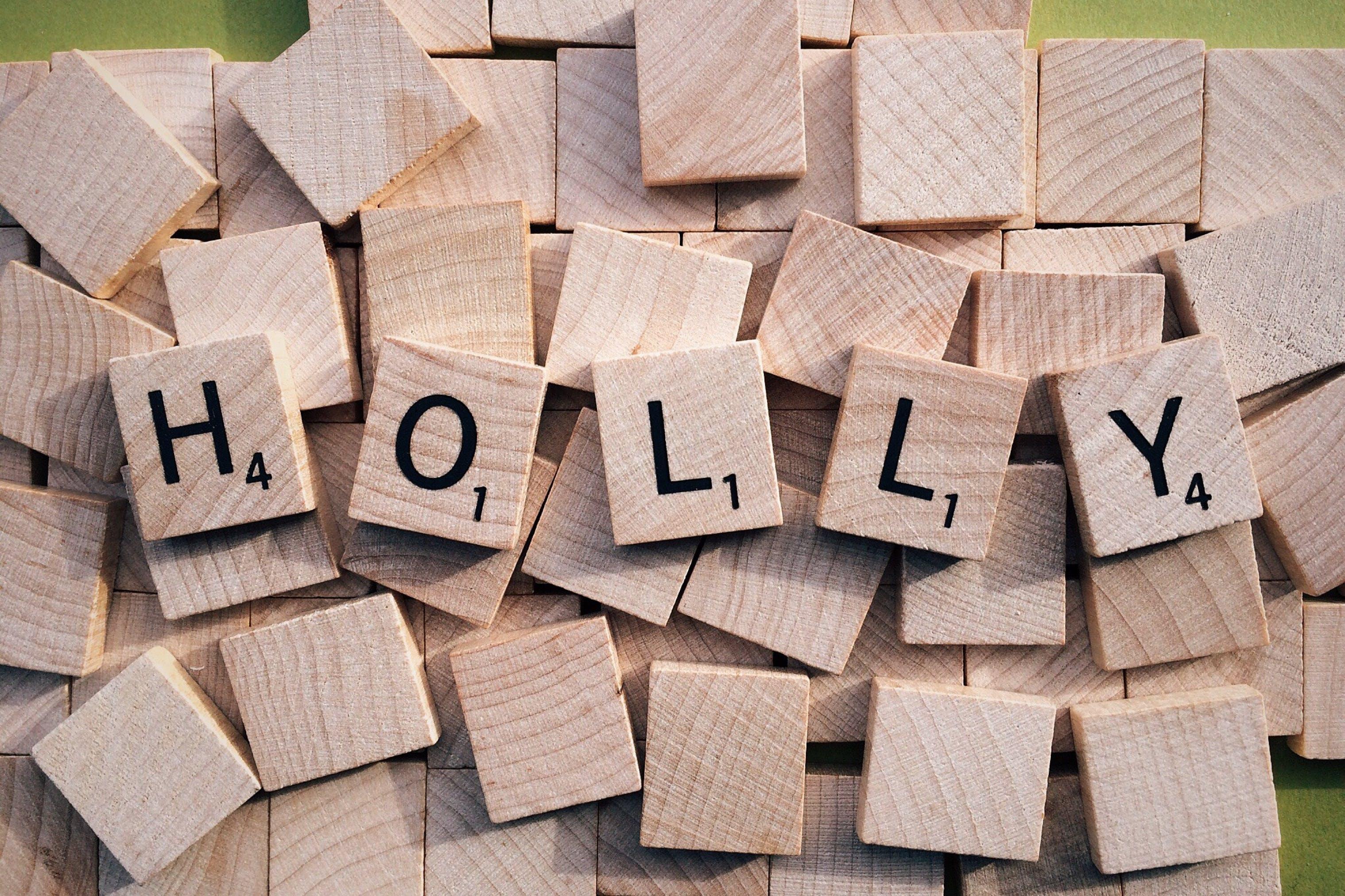 Holly Scrabble