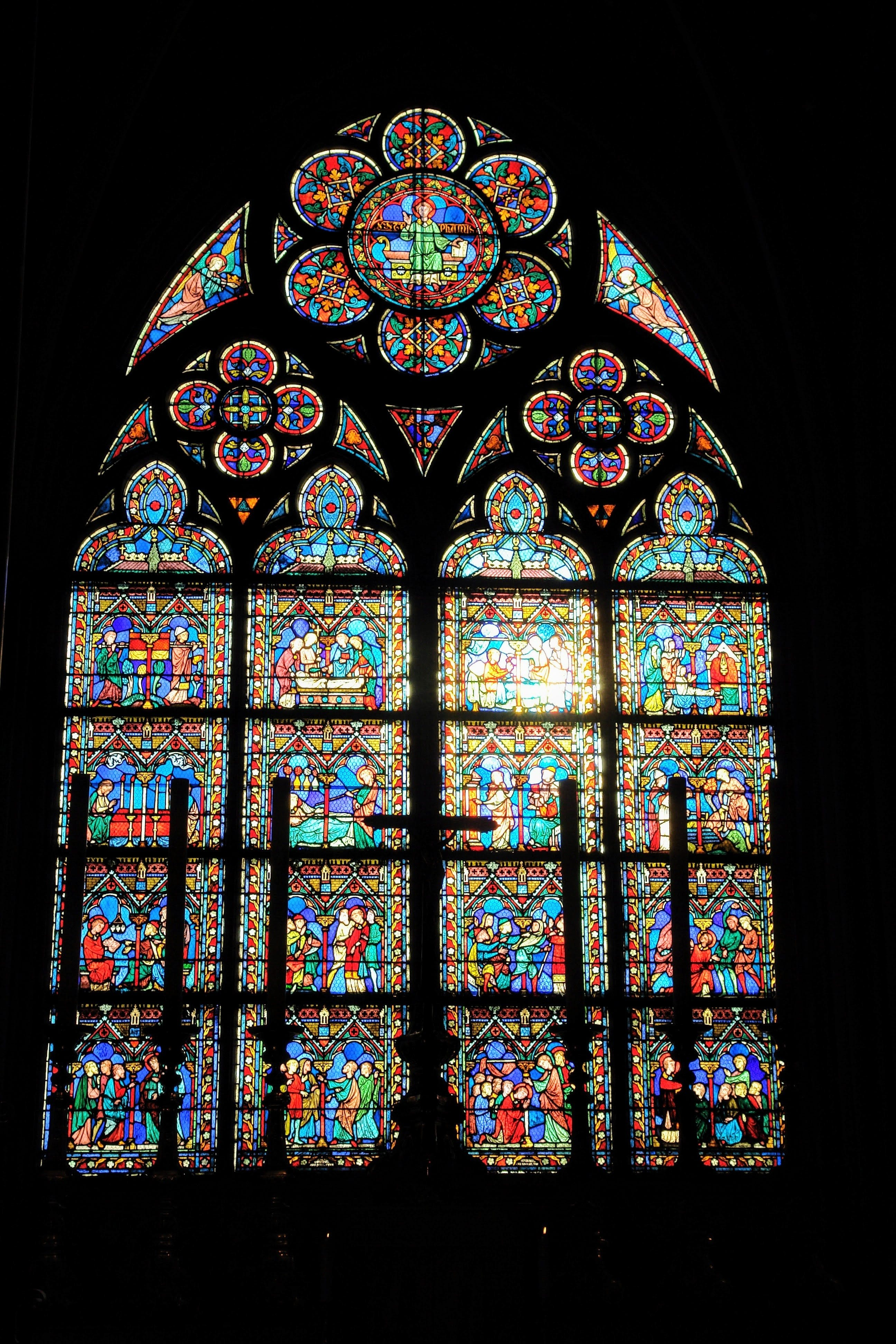Free stock photo of cathedral, church, church glass, close up