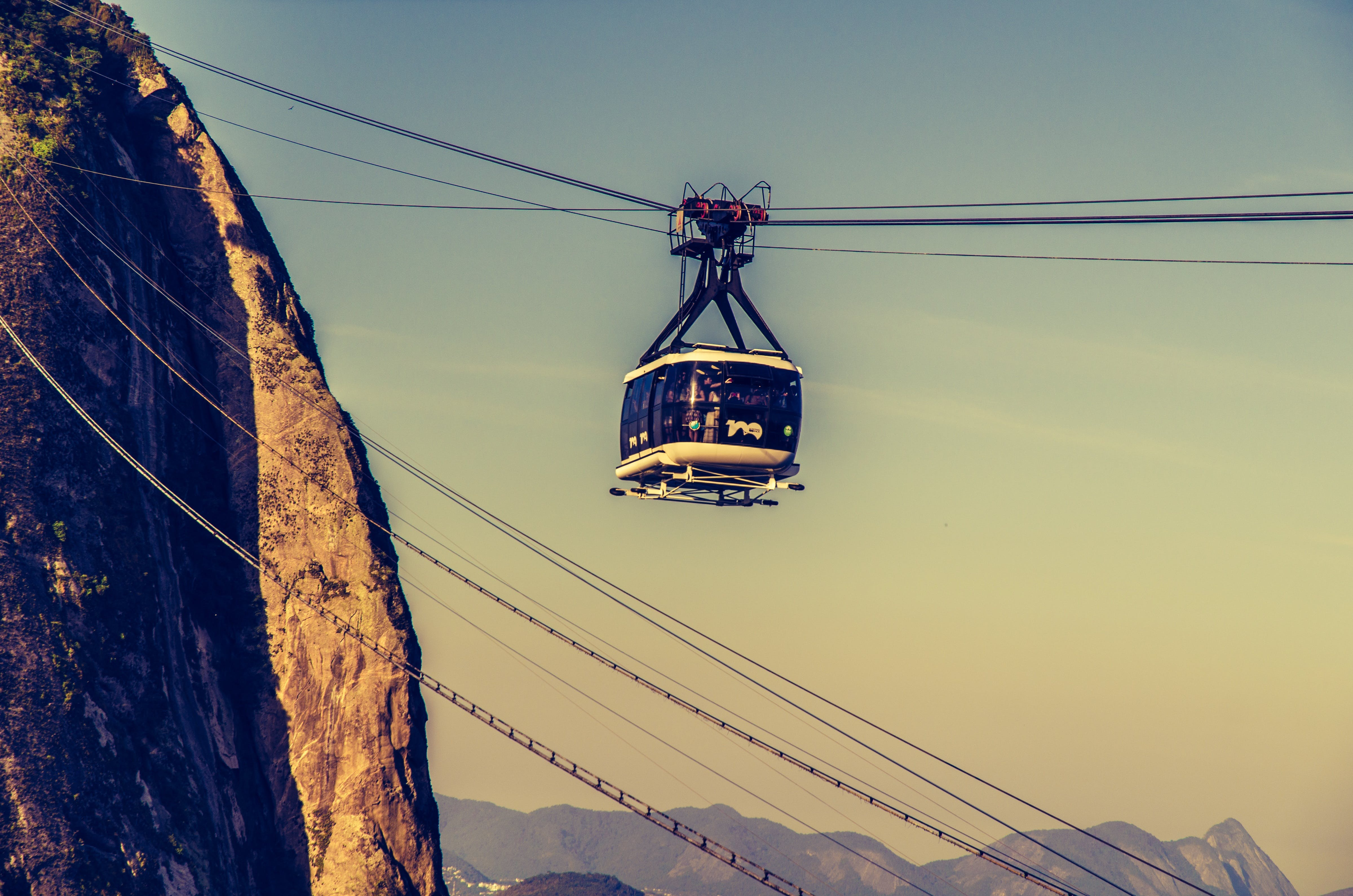 Cable Car on Rope
