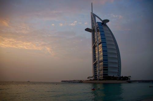 골든 아워, 두바이, 버즈 알 아랍, 소니의 무료 스톡 사진