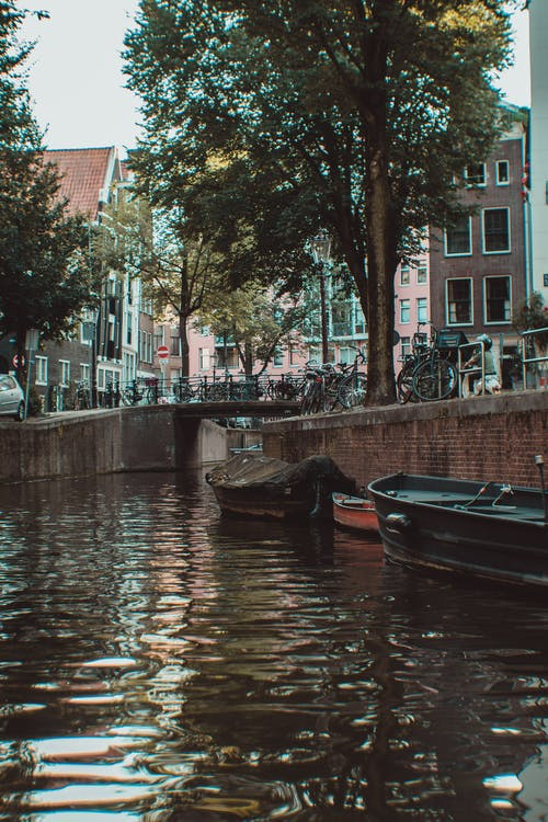 Boats on Canal