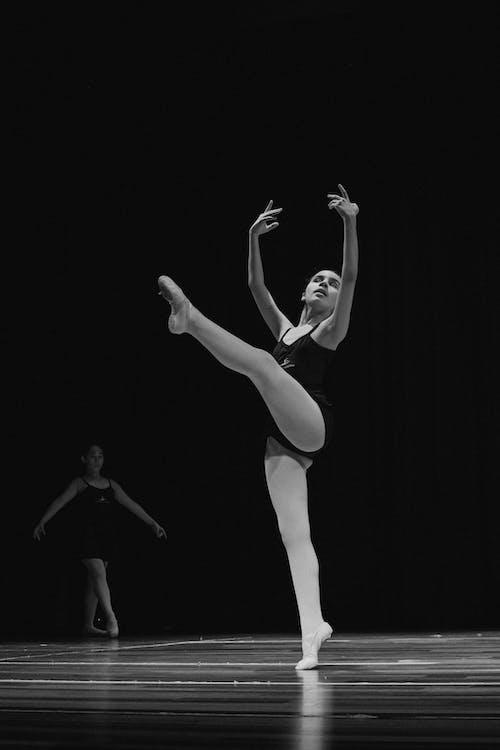 aktywny, balerina, balet