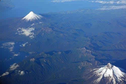 Free stock photo of #volcano #snow