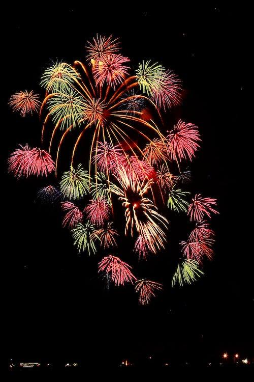 amb gas, celebració, colorit