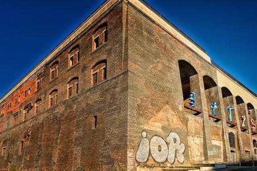 Free stock photo of red, art, industry, bricks