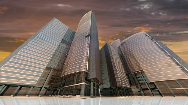Free stock photo of city, skyline, building, silhouette