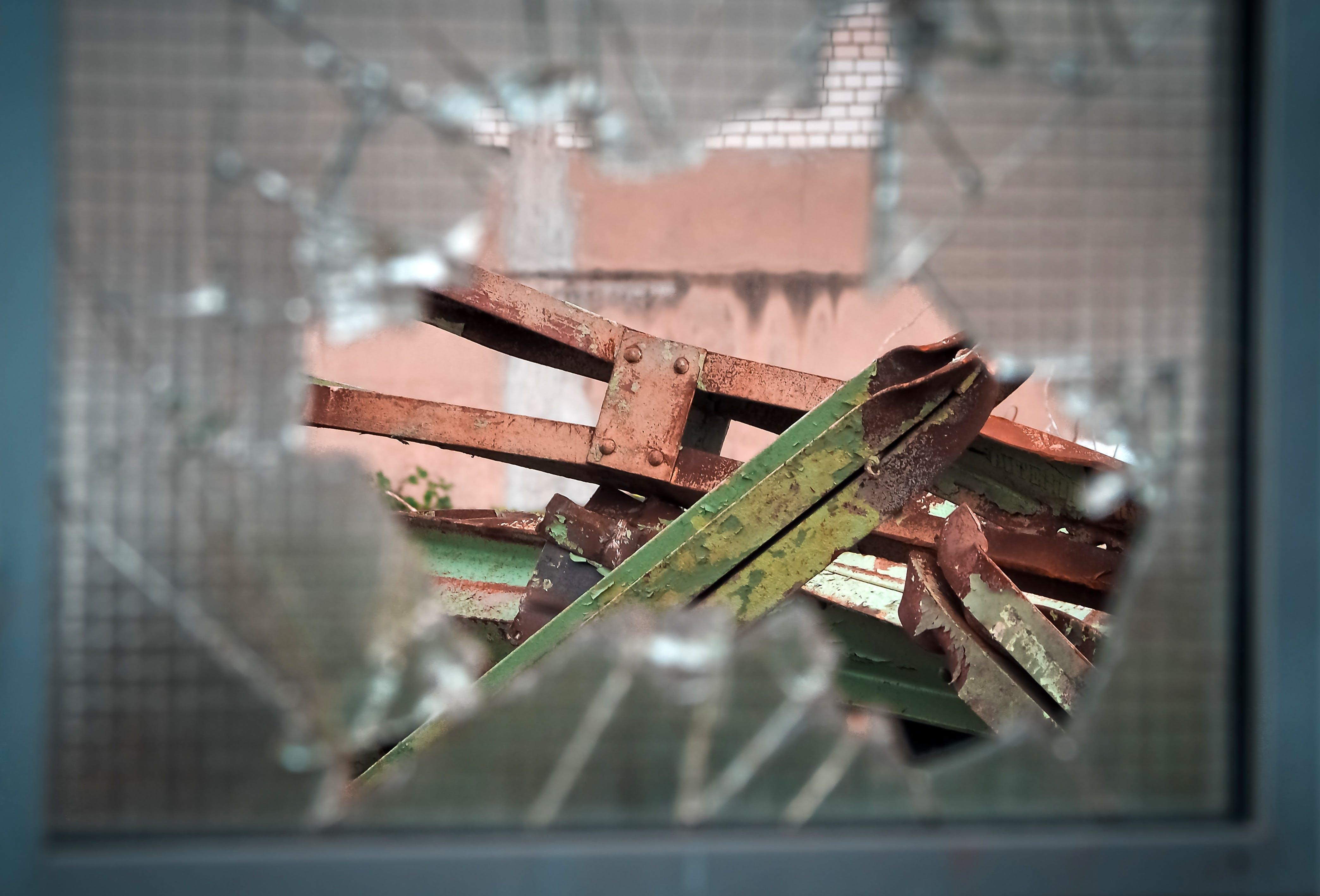 Free stock photo of building, industry, metal, broken
