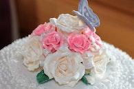 sugar, roses, bakery