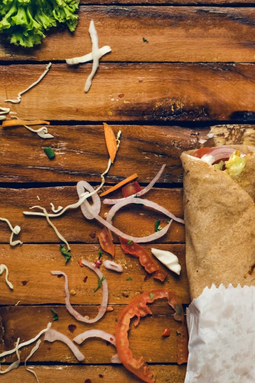 Foto profissional grátis de alface, alimento, bagunçado, cebola