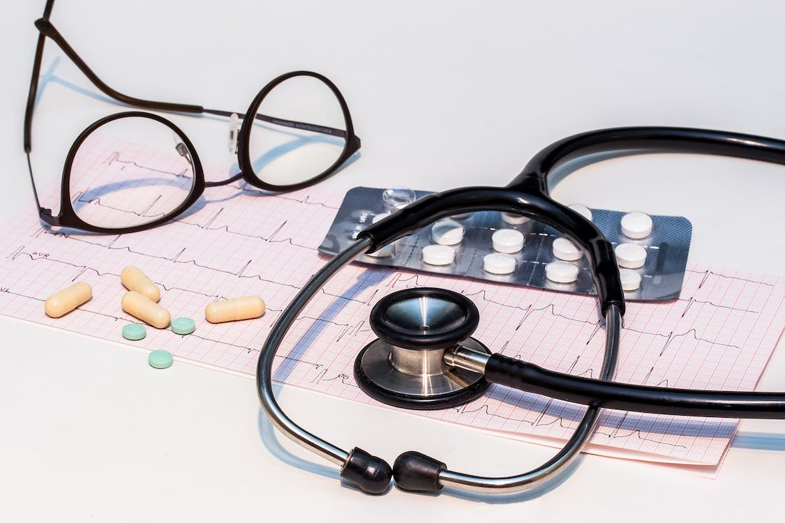 cardiology, check-up, curve