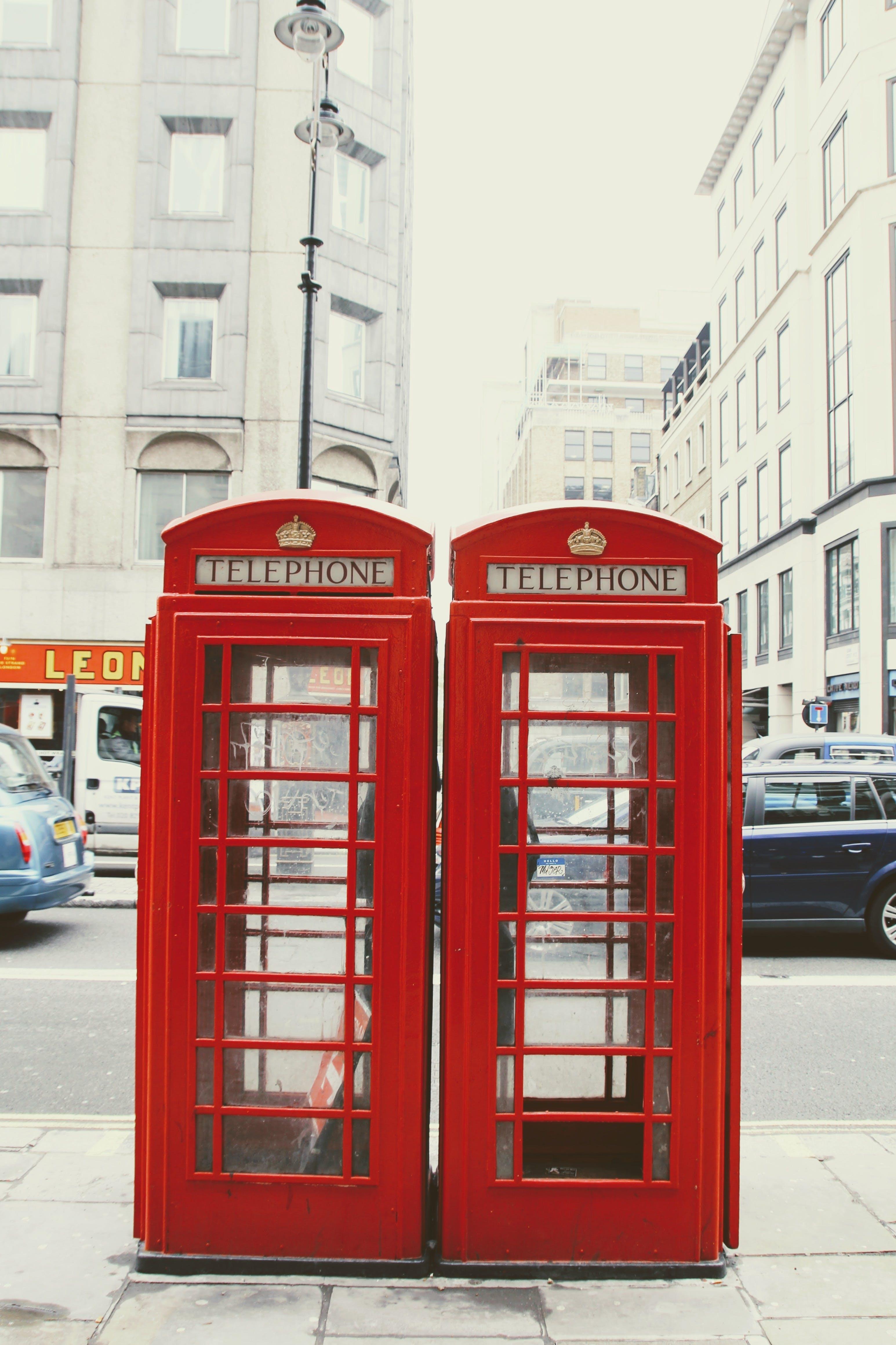 Free stock photo of red, phone, england, london