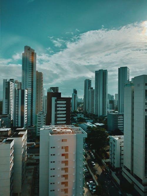 公寓建築, 天際線, 市容, 建築 的 免費圖庫相片