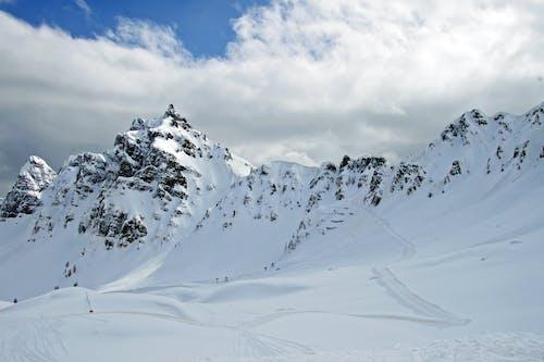 Darmowe zdjęcie z galerii z alpejski, alpy, biały, deska snowboardowa