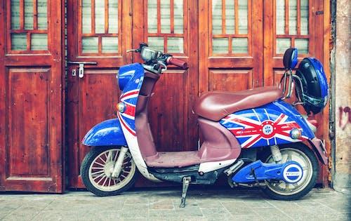 中國, 停車場, 復古, 摩托車 的 免费素材照片